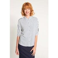 Quiosque Biała koszula w niebieskie groszki 2IL005120