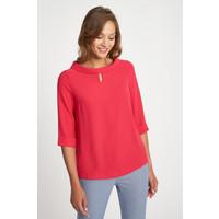 Quiosque Koralowa bluzka z szerokim dekoltem 2IE002503