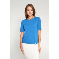 Quiosque Niebieska bluzka ze szlufką u dołu 1IL009801