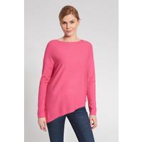 Quiosque Różowy asymetryczny sweter 6JS001531