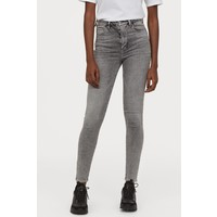 H&M Embrace High Ankle Jeans 0687704015 Szary denim