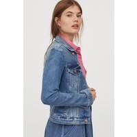 H&M Kurtka dżinsowa 0399061018 Niebieski denim/Sprany