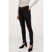 H&M Shaping Skinny Regular Jeans 0399136036 Czarny/No fade black