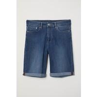 H&M Szorty dżinsowe 0663282007 Niebieski denim