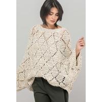 Monnari Luźno pleciony sweter z metalową nitką 19J-SWE1340-K015