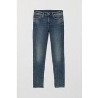 H&M Super Skinny Jeans 0673900001 Niebieski