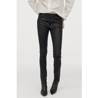 H&M Shaping Skinny Regular Jeans 0731160014 Czarny/Powlekany