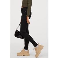 H&M Super Skinny Regular Jeans 0554450036 Czarny