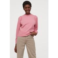 H&M Cienki sweter 0826498003 Różowy melanż