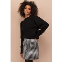 H&M Cienki sweter 0826498003 Czarny