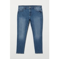 H&M H&M+ Girlfriend Regular Jeans 0680492005 Niebieski denim