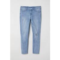 H&M H&M+ Skinny High Jeans 0573937006 Jasnoniebieski denim