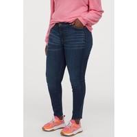 H&M H&M+ Shaping Skinny Jeans 0624257028 Ciemnoniebieski denim