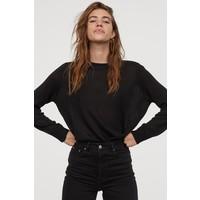 H&M Sweter 0679853033 Czarny