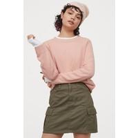 H&M Sweter 0679853033 Pudroworóżowy