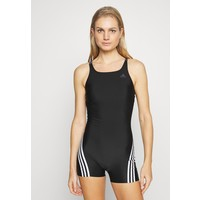 adidas Performance FIT LEGSUIT Kostium kąpielowy black/white AD581G03W