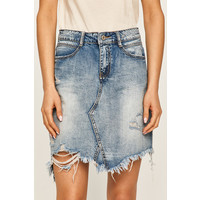 ANSWEAR Answear Spódnica jeansowa -100-SDD029