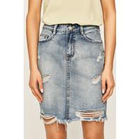 ANSWEAR Answear Spódnica jeansowa -100-SDD02C
