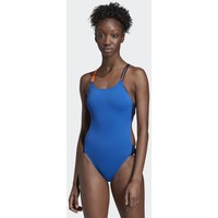 adidas Performance WATCH MY BACK SWIMSUIT Kostium kąpielowy blue/white AD581G033