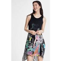 Desigual DESIGNED BY CHRISTIAN LACROIX Sukienka letnia black DE121C0ND