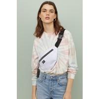 H&M Bluza 0754267064 Biały/Batikowy wzór