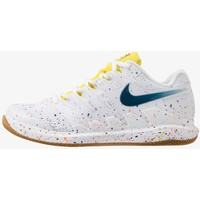 Nike Performance AIR ZOOM VAPOR X Buty tenisowe uniwersalne white/valerian blue/optic yellow/wheat N1241A0NV