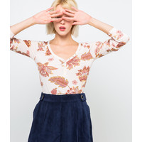 Camaieu T-shirt bawełniany z długimi rękawami 530016_2901H20/2901/TCOTON B ML NEW FANT