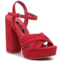 Sandały Gino Rossi 119AL2727 Czerwony