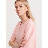 Reserved T-shirt oversize z bawełny organicznej YG386-03X