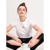 Reserved T-shirt z bawełny organicznej YG387-00X