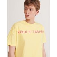 Reserved T-shirt z napisem YG393-11X