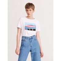 Reserved T-shirt z grafiką YK170-00X