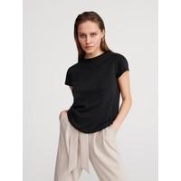 Reserved T-shirt z bawełny i konopii YM633-99X