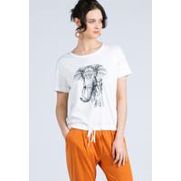 Monnari Bluzka damska z motywem słonia 20L-TSH1297-K000