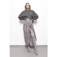 SAX35TH by Alicja Czarniecka Drapowana spódnica z rozporkiem Neva