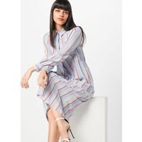 Lost Ink Sukienka koszulowa 'STRIPE MAXI SHIRT DRESS' INK0206001000002