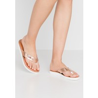 Tommy Jeans METALLIC BEACH SANDAL Japonki rose gold TOB11A03M