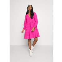 YASPINKA MIDI DRESS Sukienka letnia hot pink Y0121C12B