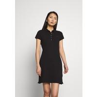 Tommy Hilfiger SLIM POLO DRESS Sukienka letnia black TO121C0A2