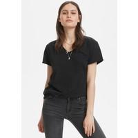 Denim Hunter VTEE SLUB YARN T-shirt basic black DH521D00K