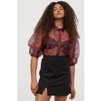 H&M Krótka spódnica dżersejowa 0852833002 Czarny