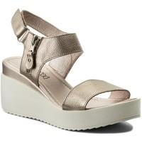 Sandały Lasocki 2111-01 Platynowy