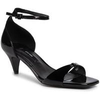 Sandały Gino Rossi V222-115-1 Czarny