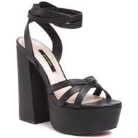 Sandały Gino Rossi 119AL3309 Czarny