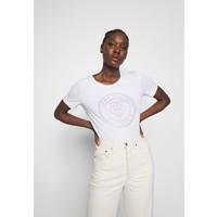 Tommy Hilfiger TIARA REGULAR ROUND TEE T-shirt z nadrukiem white TO121D0GJ