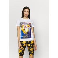Versace Jeans Couture T-shirt z nadrukiem white VEI21D00S