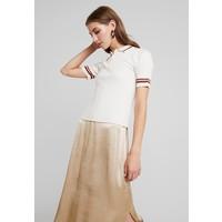 Monki VALLE UNIQUE T-shirt z nadrukiem off white MOQ21I019