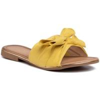 Klapki Jenny Fairy WS2590-32 Żółty
