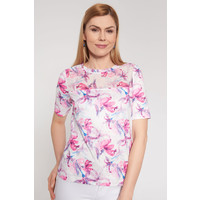 Quiosque Delikatna bluzka w różowe kwiaty 1JF013111