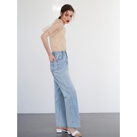 Reserved Jeansy wide leg YF888-55J